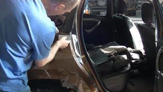 Renault Duster, защита кузова пленкой.