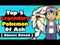 Top 5  legendary pokemon ash should caught in hindi