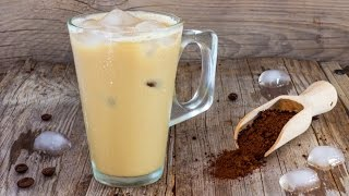 1 Minute Instant Iced Coffee Recipe | HappyFoods