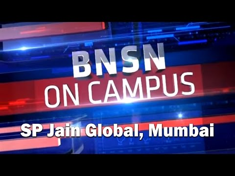 BNSN On Campus | Stock Market Lessons at SP Jain School, Mumbai