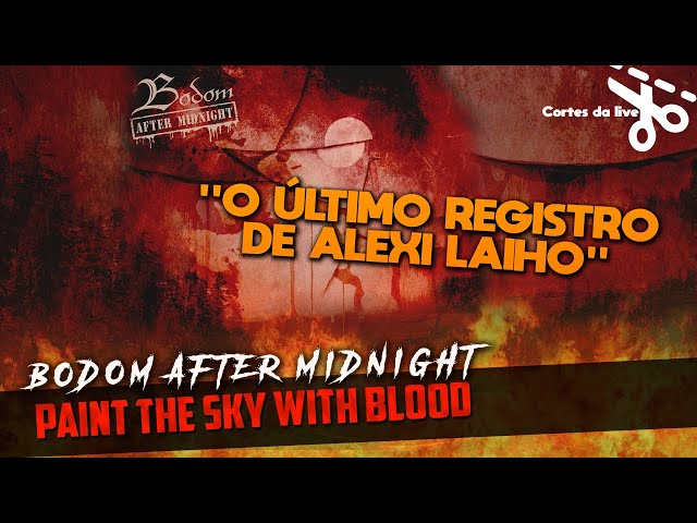 Paint the Sky With Blood - Bodom After Midnight | Resenha