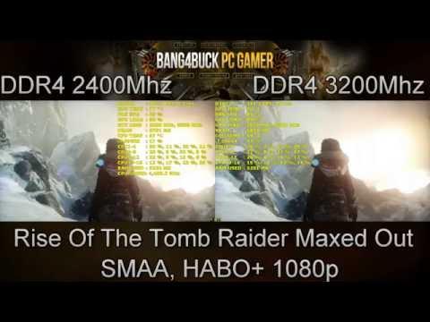 DDR4 2400MHz VS DDR4 3200MHz Gaming Performance | GTX 1080 FE | i7 5960X 4.4GHz