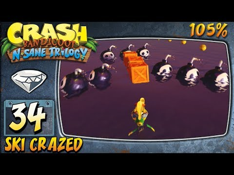 Crash Bandicoot 3 : N. Sane Trilogy (ITA)-34- Ski Crazed [105%]