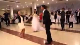 Самая красивая лезгинка на свадьбе невеста ВСЕ в Шоке !!!