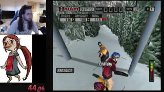 Cool Boarders 2001: Gates 1 (WR 1:50:43)