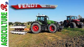 Fendt 942 vario - Massey Ferguson 8690 - CMA aratri