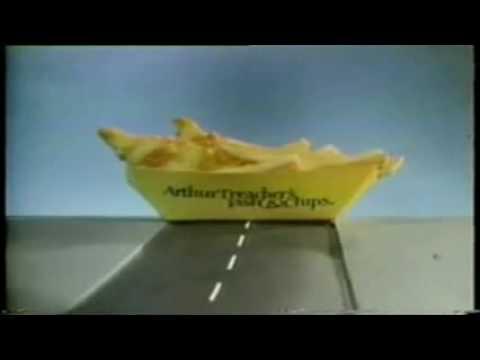 arthur treacher commercial