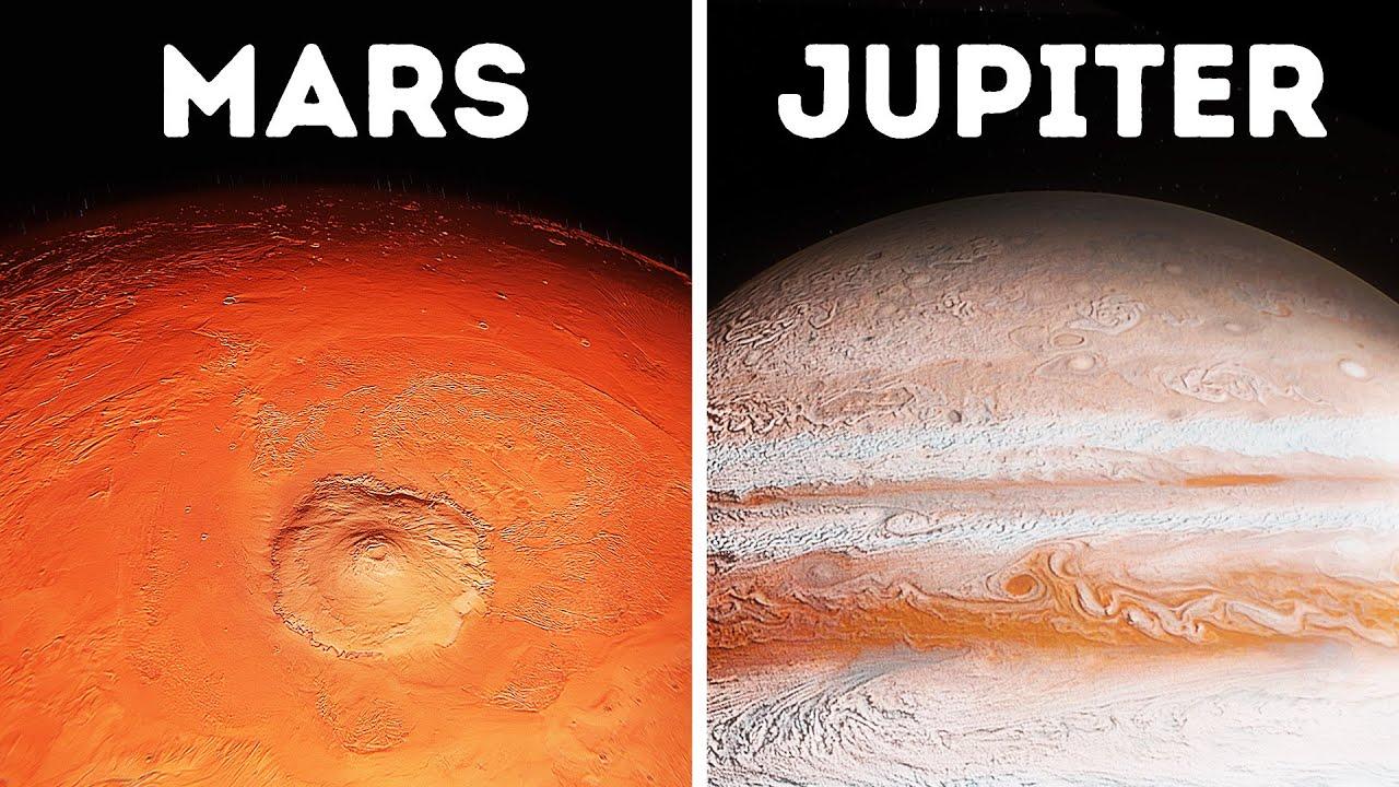 Perjalanan ke Seluruh Planet di Tata Surya 3D