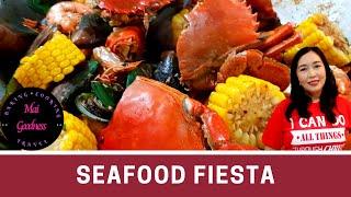 Seafood Fiesta with Cajun Seasoning - Sea Food Platter