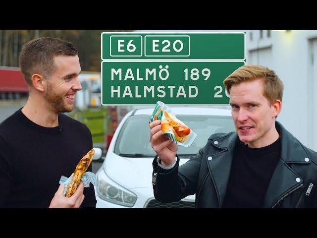 Kan vi äta på ALLA vägkrogar mellan Göteborg & Malmö?
