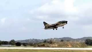 a7 corsair last landing in the world