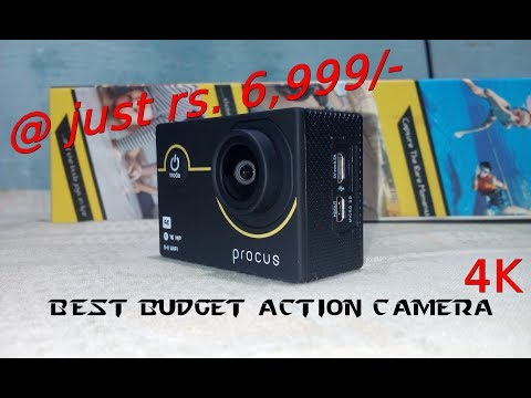 My New procus Rush 4K Action Camera (Rs - 6,999/- Only) Unboxing