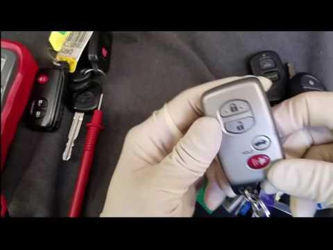 [Tự mình làm] cách thức thay cục pin trong remote và chìa khóa xe.#216.