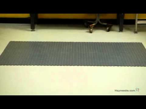 Perfection Floor Tile Studded PVC Interlocking Tiles - Product Review Video