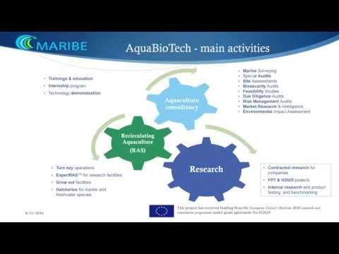 Maribe Project - Albatern and AquaBioTech Presentation