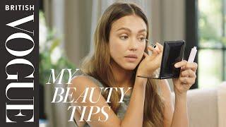 How To Get Jessica Alba's No Makeup Makeup Look | British Vogue