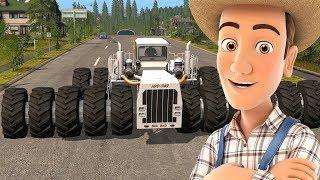 Tractor Video for Kids - Big Monster Tractors