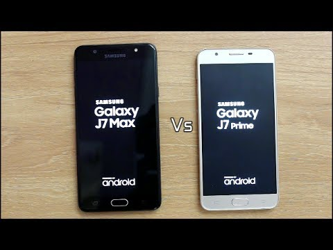 Samsung Galaxy J7 Max Vs J7 Prime Detail Comparison I Hindi