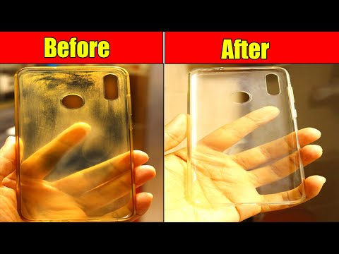 how-to-clean-yellowness-of-transparent-mobile-cover-clean-silicon-cover-at-home