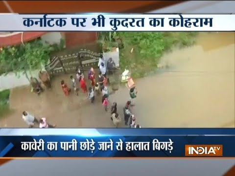 Waterlogging, landslide after incessant rain in Karnataka, rescue operation on