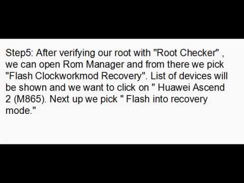 ROOT HUAWEI SONIC U8650 ANY VERSION