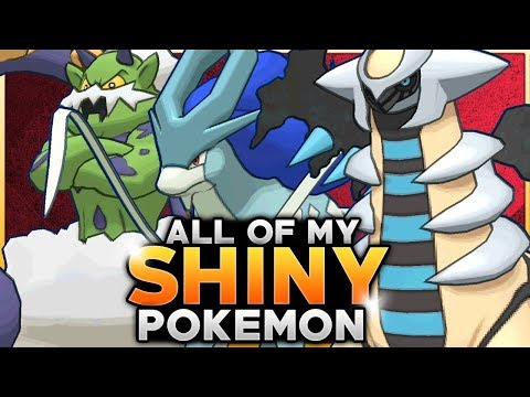 Showing ALL Of My Shiny Pokemon!