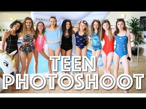 Rad Swim Teen YouTuber Photoshoot!! *so much fun!!!!*