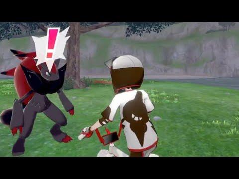 How to catch Zoroark & Zorua - 100% Spawn location - Isle of Armor Pokemon Sword and Shield |