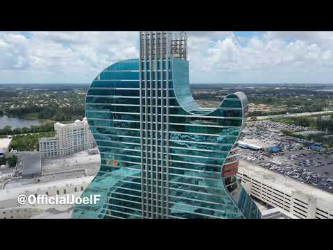 Big Mike - Guitar Shaped Hotel in Florida is Amazing.