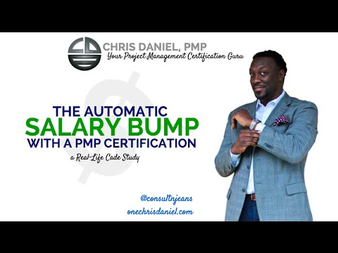 PMP Case Study: The Automatic Salary Bump with a PMP Certification