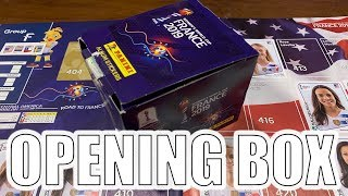 OPENING THE BOX OF WOMEN FOOTBALL STICKERS FRANCE 2019 WORLD CUP