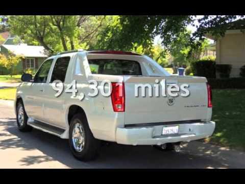 2005 Cadillac Escalade Ext Sport Utility Pickup For In Sacramento Ca