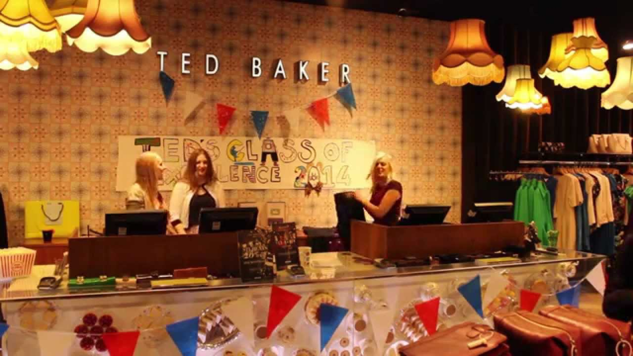 0ff9f6dcc90ef Ted Baker Cheshire Oaks Excellence Day - 2014 - YouTube