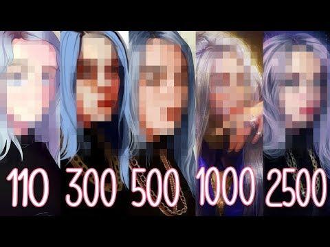 ЗАКАЗАЛА АРТ БИЛЛИ АЙЛИШ за 110, 300, 500, 1000 и 2500 рублей! #2