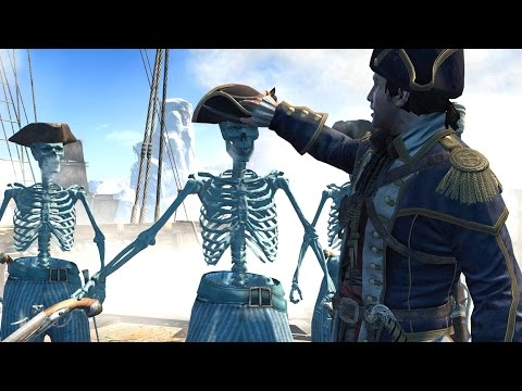 Assassin's Creed Rogue Skeleton Crew & Captain Outfit