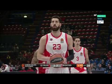 EUROLEAGUE ROUND 13 MILAN vs BASKONIA FULL GAME (BY ALLSPORTS)
