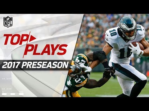 Top Plays from the 2017 Preseason | NFL Highlights