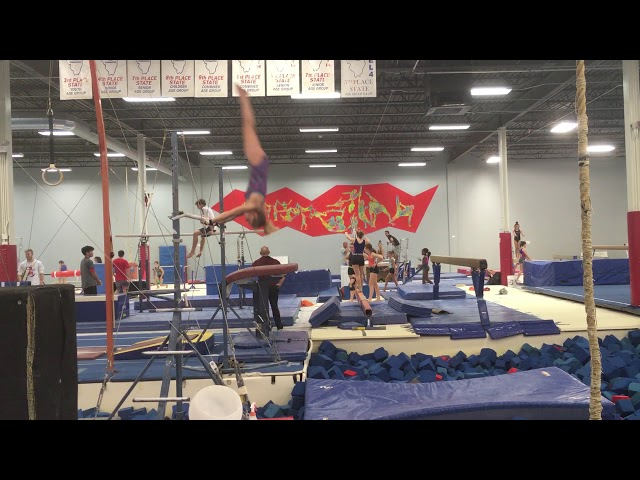 Double Layout Dismount   October 2019