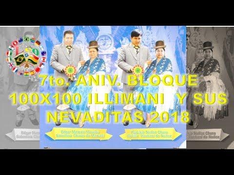 INVITACION ANIV. BLOQUE 100X100 ILLIMANI SAB.26DE MAYO 2018 SP- BRASIL