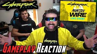 Cyberpunk 2077 Night City Gameplay - Angry Reaction!