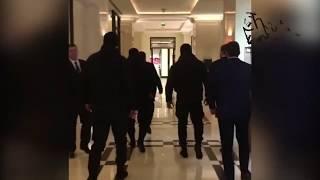 Чеченские звери в охране  Умара Джабраилова в Москве