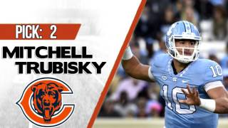 CHICAGO BEARS SELECT MITCHELL TRUBISKY 2ND OVERALL | 2017 NFL DRAFT Free HD Video
