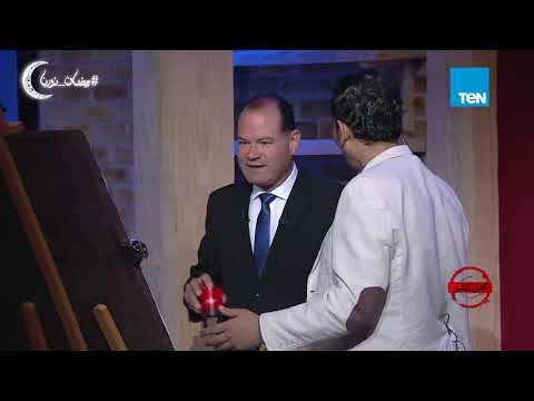 أهل الشر | الديهي يضع ختم أهل الشر علي رسمة مصطفى مشهور .. مرشد بيعة المقابر