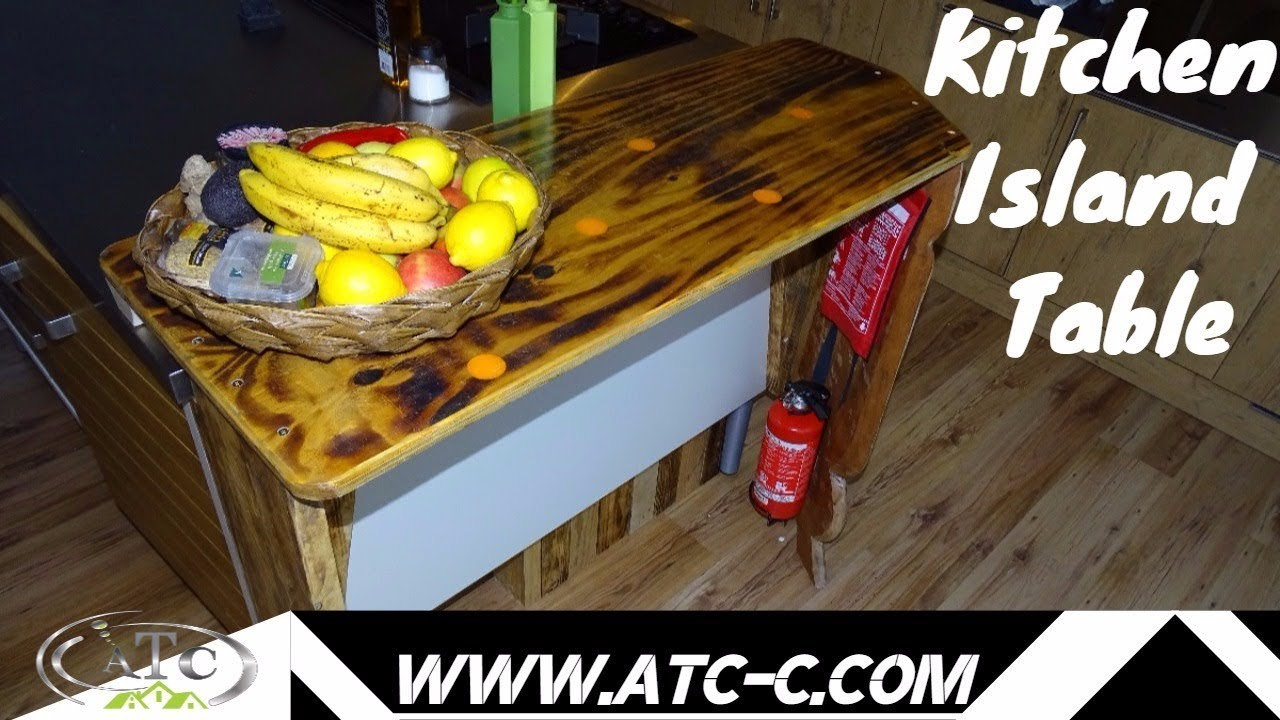 30 Kitchen Island | Making A 30 Kitchen Island Table How To Diy Youtube