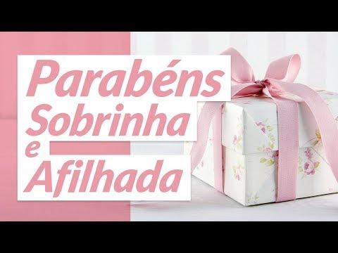 MENSAGEM DE ANIVERSÁRIO PARA SOBRINHA