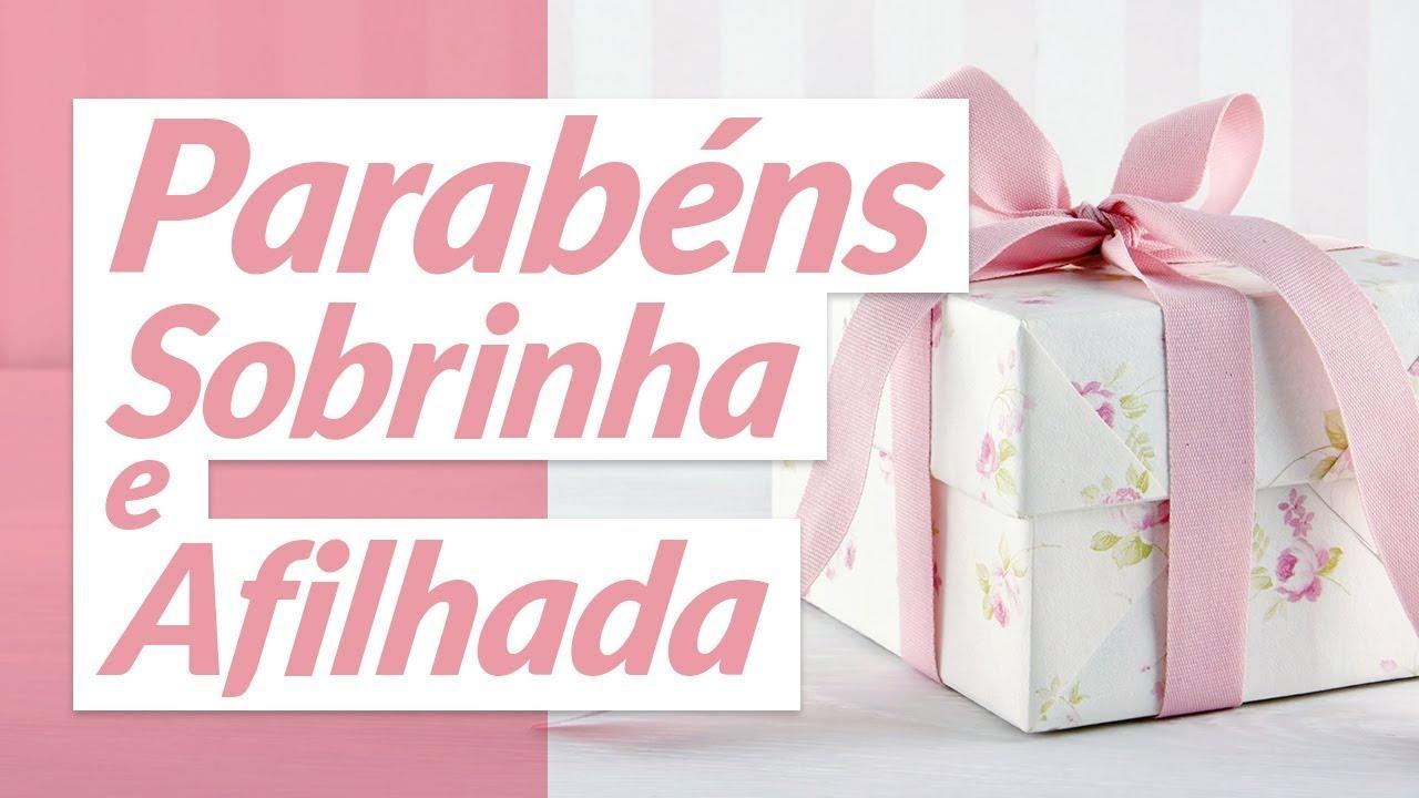 Beijo De Parabéns Para Sobrinha: Parabéns, Sobrinha Afilhada! (Mensagem De Aniversário