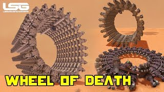 Space Engineers - Drill Wheel Of Death (Fail)
