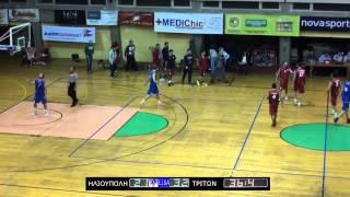 2014-15 Α ΕΣΚΑ ανδρών Ηλιούπολη-Τρίτων 01/12/2014