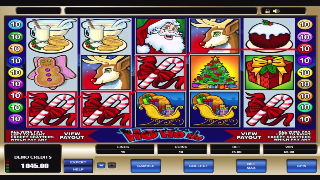 Ho Ho Ho Slot Machine