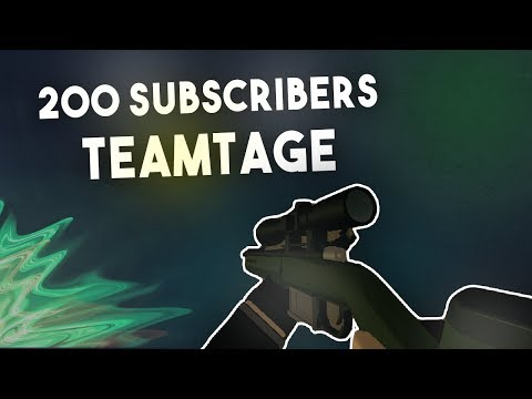 Exotic Sniping - 200 Subscribers Teamtage